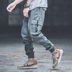 More Info, Visit Official Website – Punk Style Fashion Mens Jeans Army Green Loose Fit Jogger Pants Khaki Color Hip Hop Jeans Big Pocket Ca. Harem Pants Men, Mens Jogger Pants, Fitted Joggers, Cargo Pants, Women Pants, Punk Fashion, Fashion Pants, Hip Hop Fashion, Style Fashion