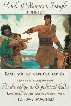 Scholars have learned that Nephis narrative is much more intricate than realized. Nephi carefully, and masterfully, writes a narrative that portrays him as the rightful ruler and leader of the Nephites. Something difficult for Joseph Smith to have included in the book himself. Learn more at http://www.knowhy.bookofmormoncentral.org/content/why-did-nephi-write-his-small-plates  #knowhy #lds #bookofmormon #mormon #nephi #politics