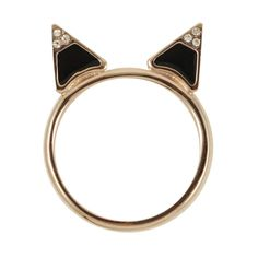 Kitty Ring on Zady - www.zady.com via @Ashley Buchanan #zady #ring #rings #style #fashion #brandypham