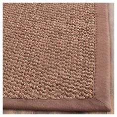 Carson Natural Fiber Area Rug - Chocolate (Brown) (8' X 11') - Safavieh, Durable #AreaRugs