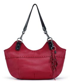 Look what I found on #zulily! Ruby Indio Leather Satchel #zulilyfinds