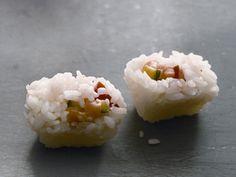 Sushi via ice cube trays