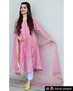 Frock Design, Fancy Dress Design, Stylish Dress Designs, Designs For Dresses, Pakistani Fashion Party Wear, Indian Fashion Dresses, Pakistani Outfits, Pakistani Clothing, Stylish Dresses For Girls
