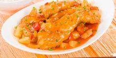 Cómo hacer pollo en salsa agridulce