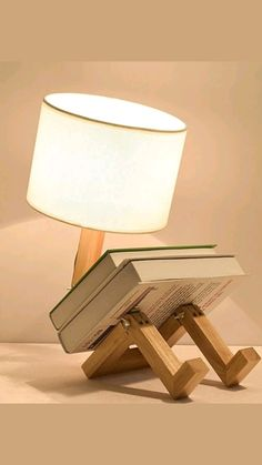Wooden Desk Lamp, Wooden Tables, Led Desk Lamp, Gaming Desk Lamp, Gaming Setup, Gaming Computer, Blitz Design, Study Lamps, Foldable Table