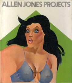 アレン・ジョーンズ Allen Jones Projects  1971年/Wasmuth Ernst Verlag 英語版  ¥7,350