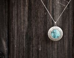 Holiday hostess gift, Star and Moon Locket, constellation, under 50, Celestial jewelry, Stocking stuffer, for her. $40.00, via Etsy.
