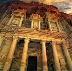 "Petra, Jordan   ""Ancient city - Petra"" by Luiza Gelts - Луиза Гельтс, via 500px."