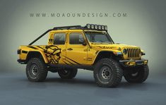 Jeep Gladiator Off road mods on Behance Auto Jeep, Jeep Pickup, Jeep Cj, Jeep Truck, Jeep Wrangler Pickup, Jeep Mods, Jeep Gladiator, Cool Trucks, Cool Cars