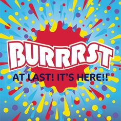 Have you ever tasted real carbonated slush in the USA? Did you wish that you could get the same great tasting product here in the UK? Well now you can... #Burrrst #Slush #NoisyDrinks