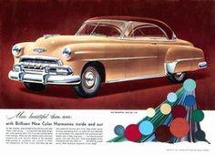 1952 Chevrolet Car Ad.