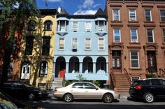 Building of the Day: 59 South Elliott Place -- A Delightful and Eclectic Facade... The unusual Queen Anne facade of 59 Elliott Place in Fort Greene is not original to the house, but was added in the late 19th century. The house collapsed in 1993, and later was home to Othniel Boaz Askew, who murdered City Councilman James E. Davis.