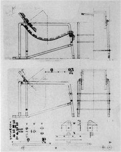 "Fauteuil Transatlantique ""Transat"" chair | Eileen Gray | Designed and manufactured for Galerie Jean Désert c. 1925-1930"