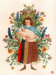 """""""I came to the conclusion that my favorite part of being a woman (it was hard to choose), is the possibility of one day being a mother."""" - Phoebe Wahl"""