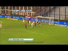 Gol de Tula. Vélez 0 - Independiente 1. Fecha 2. Torneo Final 2013. Fútbol Para Todos