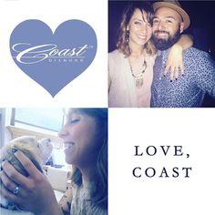 @rosacoste said yes to a #CoastDiamond engagement ring! Thank you for sharing these sweet photos of your #engagement! #showyourcoast #lovecoast #engagementring #paraiba #weddingwednesday #shesaidyes