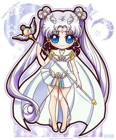 Sailor Moon - Sailor Cosmos by Akage-no-Hime