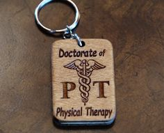 Physical Therapist Key Chain