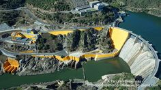 A Terceira Dimensão - Fotografia Aérea: Barragem de Bemposta