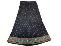 Golden Block Print Blue Bohemian Crinkled Ladies Long Skirt for Womens Mogul Interior, http://www.amazon.com/gp/product/B007WR67EC/ref=cm_sw_r_pi_alp_TN-vqb08K9X5Z