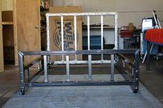 Image result for steel welded bed frame
