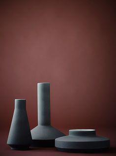 Vases by Milia Seyppel Studio Glass Ceramic, Ceramic Art, Pottery Vase, Ceramic Pottery, Vase Noir, Clear Vases, Large Vases, Tall Vases, Design Vase