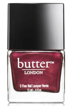 Girl On Fire: Fall's 10 Prettiest Red Polishes. Butter London Nail Lacquer in Rebel Fox (Double Take Fire Duo), $24 (for 2), butterlondon.com.