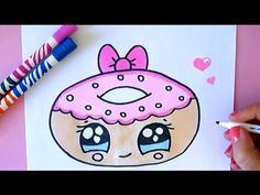 KAWAII DONUT MALEN - YouTube