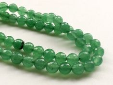 WHOLESALE 5 Strands Green Aventurine Beads by gemsforjewels