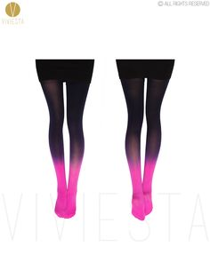 $5.85 DIP DYED GRADIENT OPAQUE TIGHTS   120D Women's Girls' New Fashion Candy Color Colorful Ombre Hand Dye Thick Stockings Pantyhose-in Tights from Women's Clothing & Accessories on Aliexpress.com | Alibaba Group