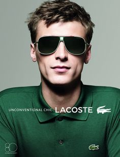 Clément Chabernaud Stars in Lacoste Eyewear Spring/Summer 2013 Campaign by David Sims