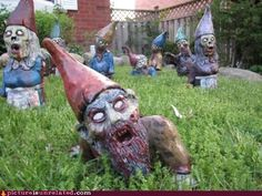 Lawn of the Dead - Picture Is Unrelated - WTF Pictures and Videos - via http://bit.ly/epinner