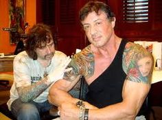 sylvester stallone tattoos - Google Search