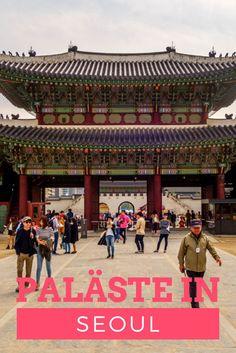 Eine gute Möglichkeit etwas über die koranische Kultur und Geschichte zu erfahren, ist ein Besuch der Paläste in Seoul. Auf unserem Streifzug durch Seoul haben wir drei der fünf großen Paläste besucht.