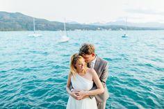 Lake site wedding in Carinthia | Nadine and Bernhard