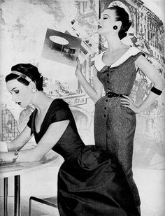 vintage fashion 1950's style