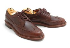 Alden x Leffot Brown CXL Longwing Blucher  http://www.facebook.com/DressShoesandSneaker  http://dressshoesandsneakers.tumblr.com/