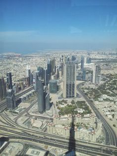 Burj Khalifa Dubai at the top