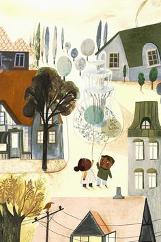 Children's book illustration by Adelina Lirius