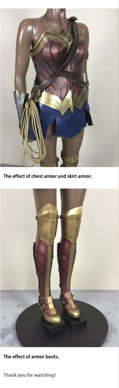 How to make Wonder Woman's costume armor diy from ZCSC Studio