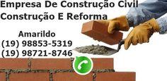 Serviços De Pedreiro (19) 98853 – 5319 / WhatsApp (19) 98742 – 9426, Construção, Reforma De Casas EM Campinas, Construção Civil Em Geral. Campinas, Houses