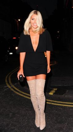 Celebrity Boots/Mollie King