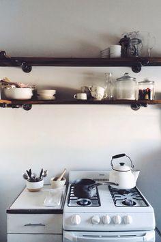 kitchen shelving