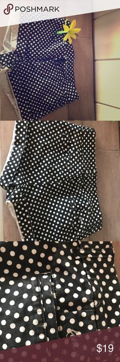 """Kavu stretchy polka dot shorts 3""""inseam; definitely used; little faded and a few lose threads; pic is shown cuffed; they are stretchy and fit great! kavu Shorts"""