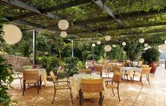 Outdoor area of the Restaurant  http://divanicorfuhotel.com/