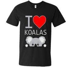 I Love Koalas Shirt, I Heart Koalas cool shirt
