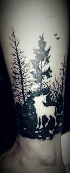 Tree Tattoo Last Unicorn                                                                                                                                                                                 More