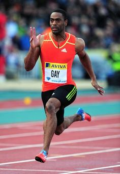 Olympic Sprinter Tyson Gay gave us the scoop on his workout, new goals, and dethroning Usain Bolt    #olympics #london2012
