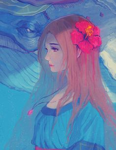 The Legend of Zelda : Link's Awakening  / Marin and the Windfish  / 「夢見る島」/「Biahnyang」のイラスト [pixiv] [01]
