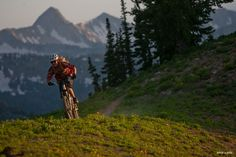 Zach Grant in the best trail in the Wasatch.